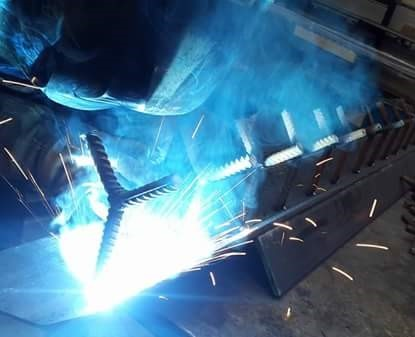welding a custom built stainless steel design