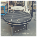 German Style Swinging grill made in UK