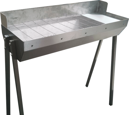 SS1 Stainless Steel Charcoal Barbecue